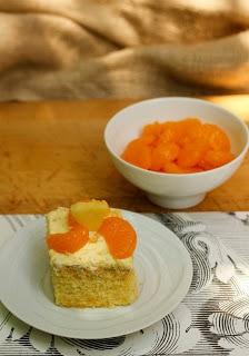 Mandarin Orange Cake AKA Pea Pickin' Cake