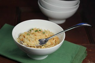 Orzo with Browned Butter and Parmesan