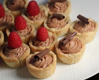 Mini French Silk Pies