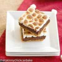 Smore's Brownies | With a layer of graham cracker crust and a toasted marshmallow topping, these brownies are the ultimate s'mores treat!