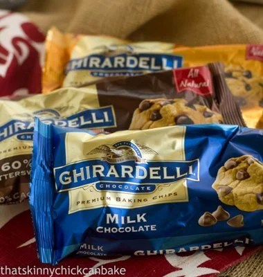 3 Bags of Ghirardelli Chocolate Chips