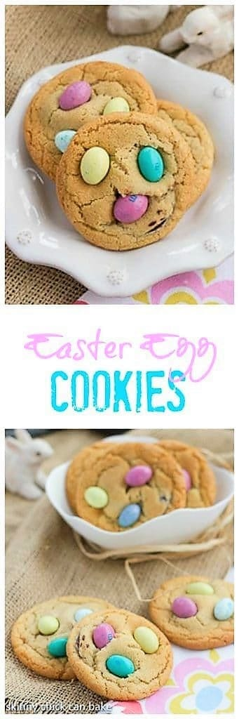 Easter Egg Cookies Pinterest collage
