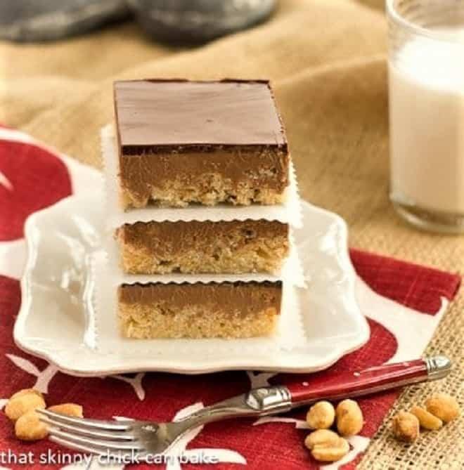 Chocolate Peanut Butter Krispie Bars