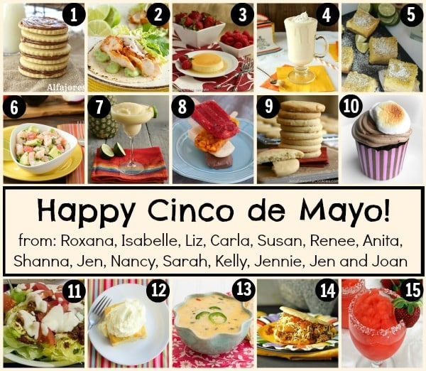 Cinco de Mayo Recipe images collage