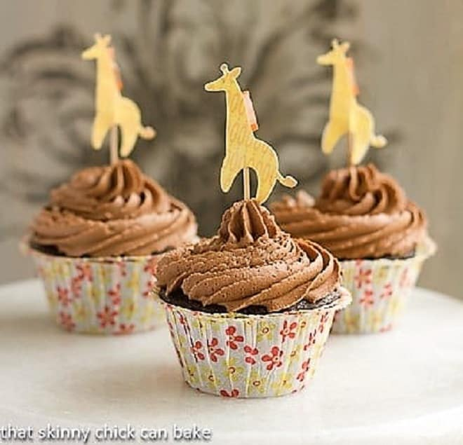Cocoa Cupcakes with Chocolate Buttercream