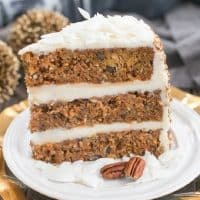 Caramel Filled Carrot Cake featured image