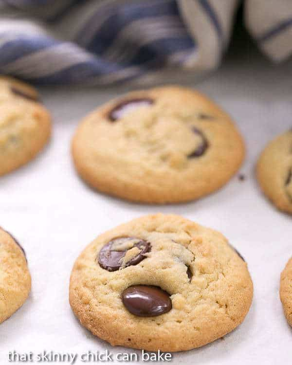 Soft Chocolate Chip Cookies with Pudding - Soft, chewy with a secret ingredient!