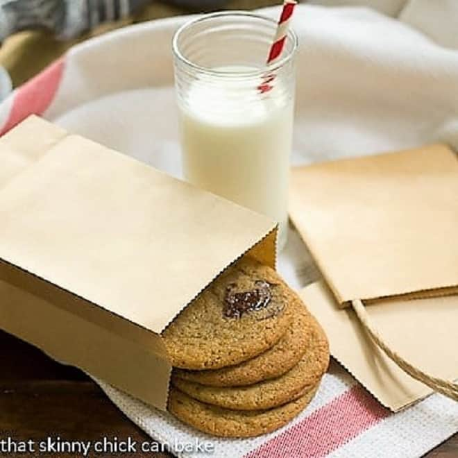 Ad Hoc Brown Sugar Chocolate Chip Cookies in a brown bag