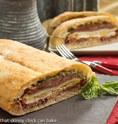 Pressed Brick Sandwich