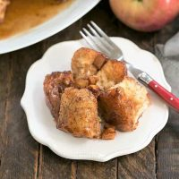 Crock Pot Apple Monkey Bread featured image