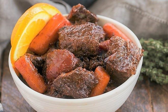 Slow Cooked Beef Stew With Red Wine That Skinny Chick Can Bake