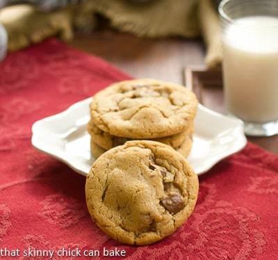Biscoff Toffee Cookies