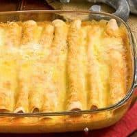 Cheesy Chicken Enchiladas featured image