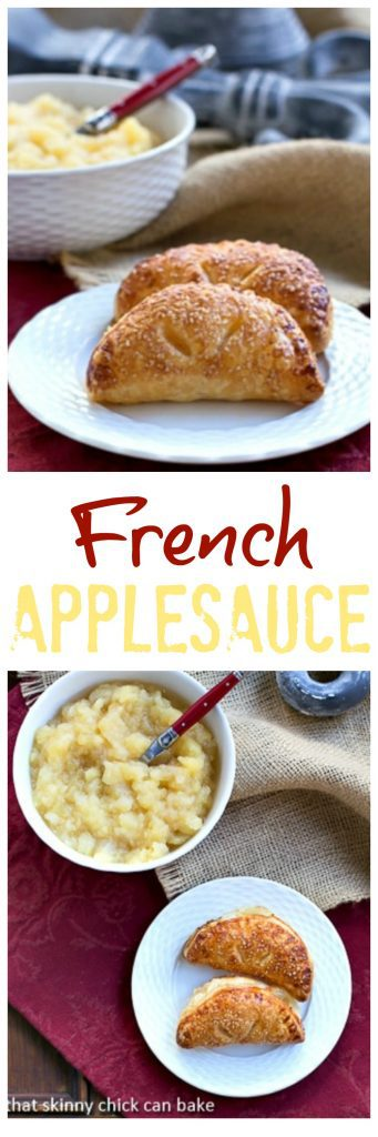 French Applesauce | Dorie Greenspan's recipe for compote de pommes
