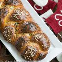 Perfect Braided Challah from Baking with Julia Pinterest featured image