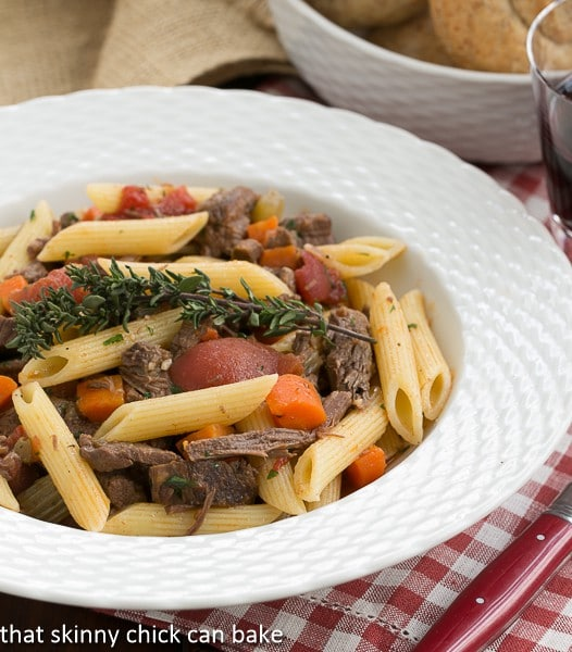 Beef Burgundy Pasta