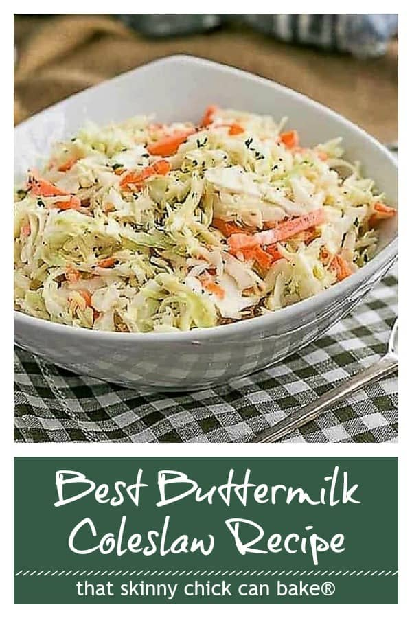 Best Buttermilk Coleslaw Pinterest collage