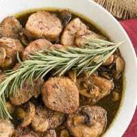 Pork Tenderloin with Maple Balsamic Glaze - an easy weekday supper recipe!
