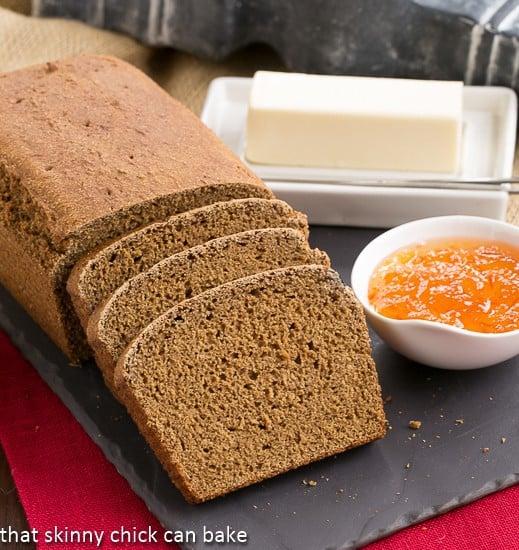 Whole Wheat Molasses Quick Bread