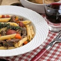 Beef Burgundy Pasta featured image