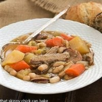 A bowlful of French Garbure Stew