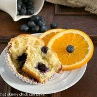 Blueberry Orange Muffins - tender, citrus kissed and chock full of juicy blueberries