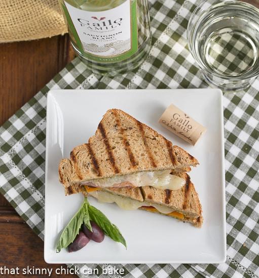 Mediterranean Grilled Cheese