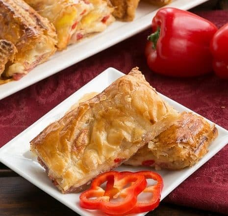 Puff Pastry Antipasto Squares