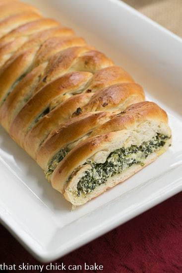 Spinach Onion Braid