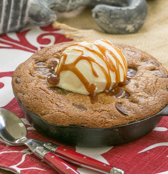 Pizookies - Big gooey pan cookies
