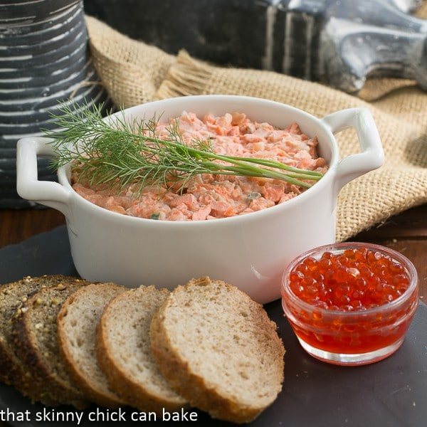 Salmon Rillettes #FrenchFridayswithDorie