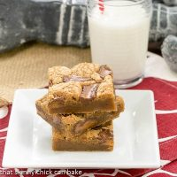 Biscoff Rolo Bars | Irresistible bars with Biscoff, Caramel and Chocolate!