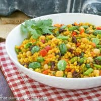 Couscous Salad   Dorie Greenspan's delicious recipe