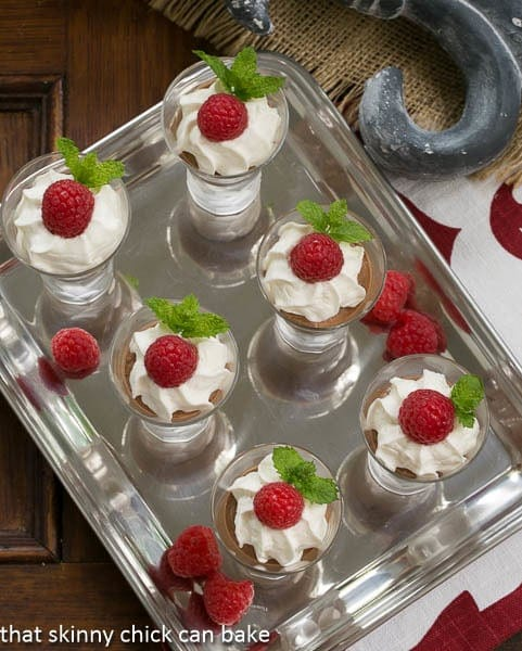 French Silk Shooters #SundaySupper