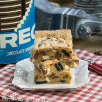 Oreo Chocolate Chip Bars