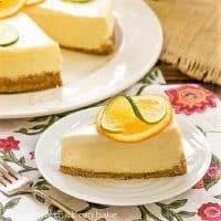 Margarita cheesecake featured image