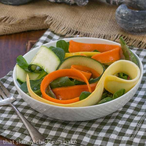 Vanilla Vegetable Salad from That Skinny Chick Can Bake