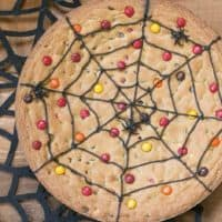 Spiderweb Cookie Cake featured image