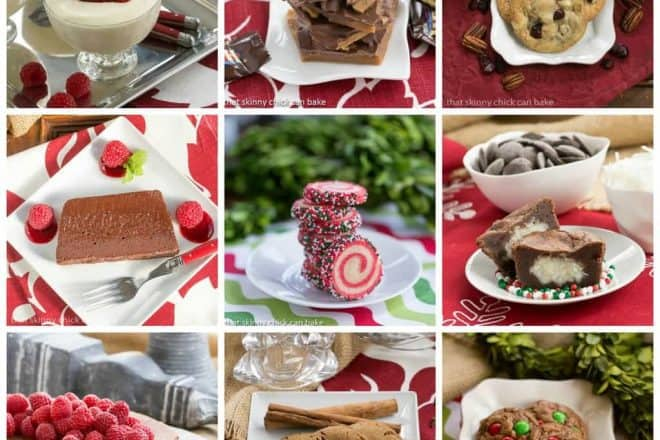 Christmas Desserts Collage