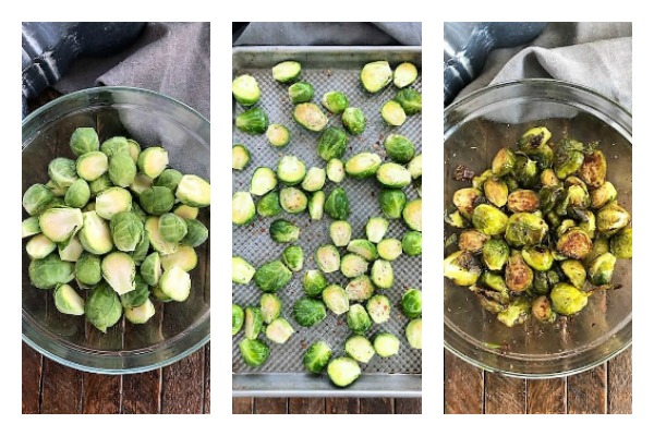 How to Roast Brussels sprouts photos