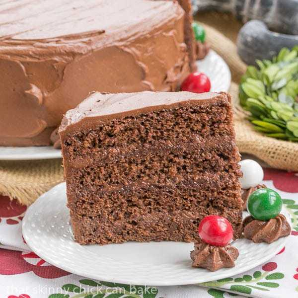 Devil's Food Cake for Festivus | That Skinny Chick Can Bake