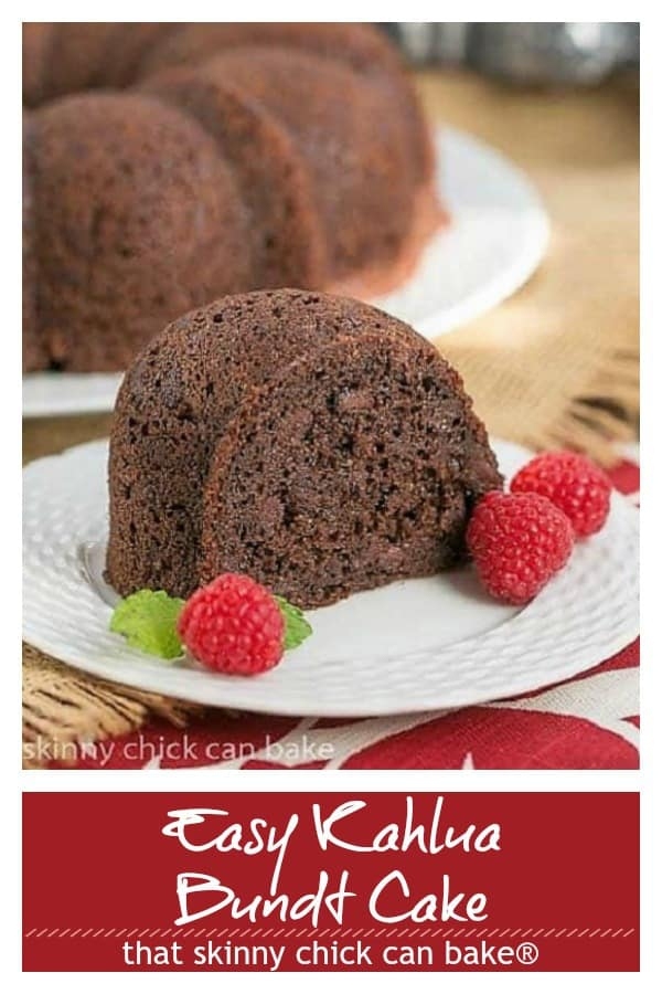 Easy Kahlua Bundt Cake pin