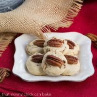 Homemade Pecan Sandies Cookies