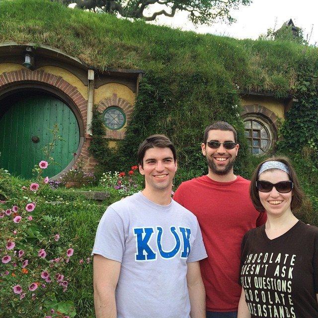 Kids in Hobbiton