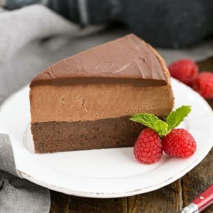 Frozen Chocolate Mousse Cake featured image