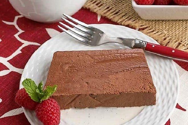 Marquise au Chocolat - An elegant frozen mousse