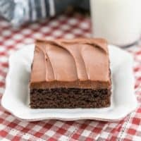 Cocoa Fudge Cake featured image