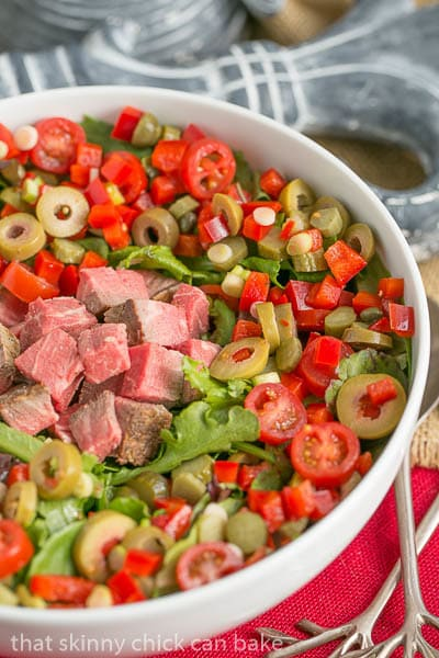 Next Day Beef Salad