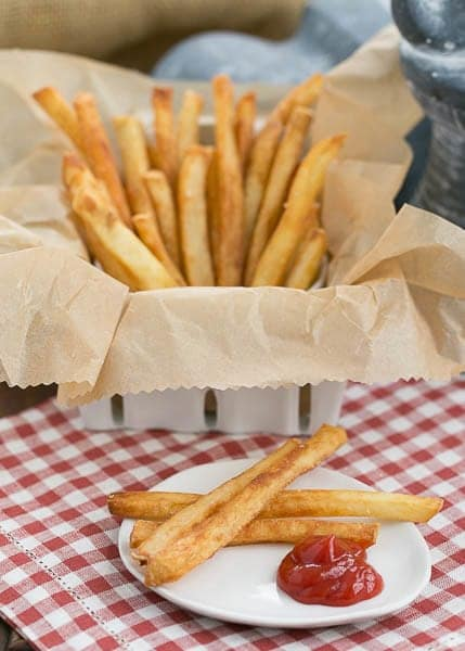 Thin Crispy French Fries - As good or better than McDonald's, but made in your own kitchen!