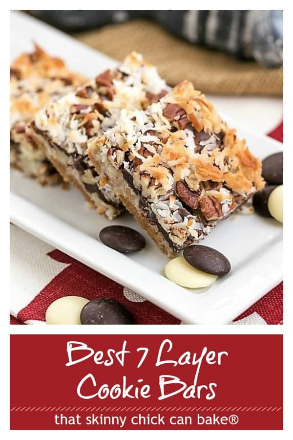 Seven Layer Bars photo and text collage